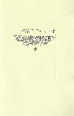 How I felt last night. So thankful to God for sleep even on those nights I don't get much.