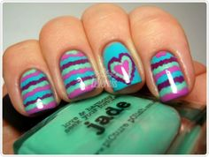 Valentine's Day Nail Ideas   19 Valentine's Day Nail Art Ideas That Will Put You In The Mood For ...
