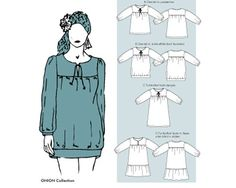 1 Restexemplar Shirt, Tunika oder Kleid (5041), 4 Varianten, Größe 34-48