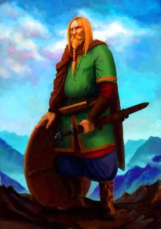 Can another adventure be added, oh yes says the Viking. Viking Warrior, Tribal Warrior, Viking Helmet, Viking Art, Medieval World, Medieval Fantasy, Viking Character, Skins Characters, Thor