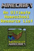 Welcome to 31 Days of Homeschooling with Minecraft. We have free printables and lots of ideas for learning – which we call Crafting Adventures. Start your day of learning with one of our crafting adventures and make today a fun day! InLinkz.com July 1st: Learning With Minecraft: An Ultimate Homeschool Resource List July 2nd: SKRaftyContinue Reading >>