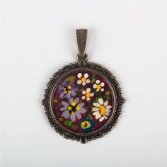 Hey, I found this really awesome Etsy listing at https://www.etsy.com/listing/187899622/the-oil-paint-pendant-only-special-for
