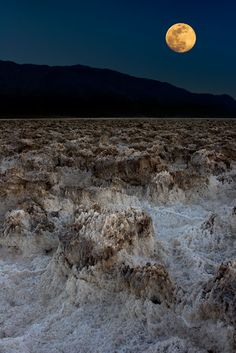 Incredible moon over Death Valley National Park, CA, where night skies are still wonderfully dark for stargazing @ http://www.jaypatelphotography.com/gallery/deserts