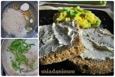 uova strapazzate con porro Feta, Dairy, Cheese