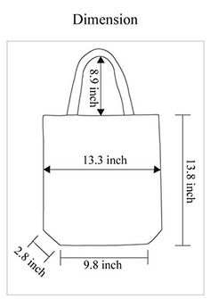 Amazon.com: Stockholm - Cotton Canvas Tote Bag: Clothing