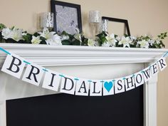 Get your bridal shower banner ordered today and be less stressed about the bridal shower you're throwing for your bestie bride-to-be that is coming up. Bridal shower decor and bridal shower banners by Celebrating Together. Bachelorette Party Banners, Bachelorette Party Decorations, Bridal Shower Decorations, Wedding Decorations, Wedding Shower Signs, Bridal Shower Party, Bride To Be Banner, Shower Banners, Wedding Planning Tips
