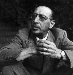 Lee Miller: Igor Stravinsky, LA, USA, 1946