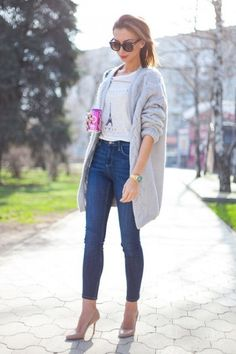 18 Ideas On How To Wear Skinny Jeans | Women Work Outfits