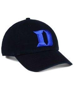 '47 Brand Duke Blue Devils Clean Up Cap - Black Adjustable