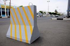 Abdulnasser Gharem, 'Concrete', 2008, From the series 'Restored Behaviour', Industrial lacquer paint on rubber stamps on 9mm plywood #art #abdulnassergharem #edgeofarabia