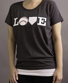 Home Run Baseball LOVE shirt