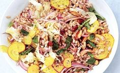 Barley, Fennel, and Beet Salad / Christopher Testani