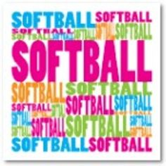 I LUV SOFTBALL!!!! I DON'T KNOW HOW MUCH MORE I CAN EXPRESS THAT!!!