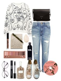 """""""071"""" by kctehorton ❤ liked on Polyvore featuring Christian Dior, Current/Elliott, Maison Margiela, PB 0110, Charlotte Russe, Urban Decay and Mullein & Sparrow"""