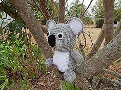 Free Amigurumi Koala Pattern : Koala amigurumi free pattern tutorial amigurumi tutorial
