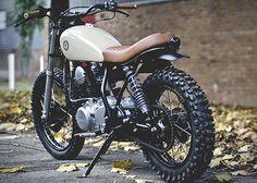 Cycle 4 Custom Yamaha SR250 Cafe Racer