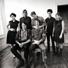 Arcade Fire is an indie rock band from Montreal, Que., Ca., husband and wife Win Butler and Régine Chassagne, Win's brother Will, Richard Reed Parry, Tim Kingsbury and Jeremy Gara. Wikipedia Albums: The Suburbs, Reflektor, Funeral, Neon Bible, 2001 Demo, more Awards: Grammy Award for Album of the Year, more Film credits: Une danse des bouffons, Her, Barely Dead, The Wilderness Downtown, Scenes From The Suburbs