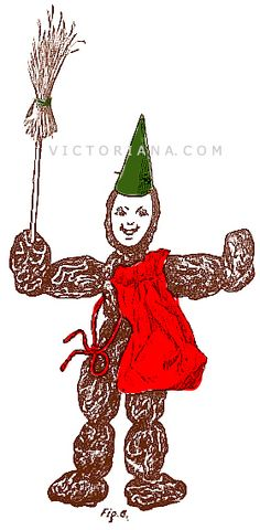 Chimney Sweep Christmas Decoration:
