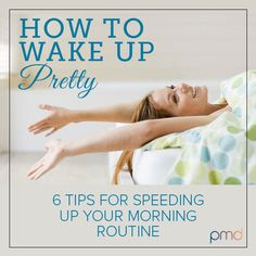 How To Wake Up Beautiful, so great for those mornings I am running late.. ok every morning