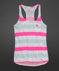 Love the colors! Tank top :)