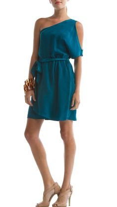 Brisbane Dress, Ocean Depths by Eco Skin >> Cannot get enough of this color!