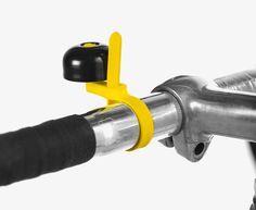 ECAL's bicycle accessories - zap-strap bell - renaud defrancesco