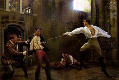 Vogue's Romeo and Juliet 5. Annie Leibovitz