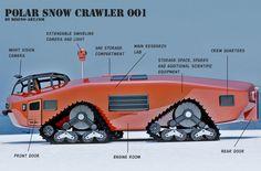 1930s inspired Polar Snow Crawler PSC-001 | 2EveryDays