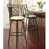 Found it at Wayfair - TMS Avery Adjustable Metal Bar Stools (Set of 3)