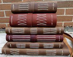 Handmade Leather Longstitch Journals | Myhandboundbooks