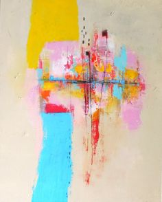 Abstract Painting Modern Wall Art Contemporary by ChristinaRomeo