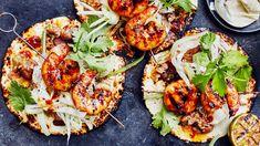 Shrimp Tacos, Grilled Shrimp, Garlic Shrimp, Seafood Recipes, Mexican Food Recipes, Ethnic Recipes, Fish And Seafood, Chipotle, Viva Mexico