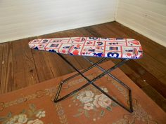 Vintage Toy Ironing Board- I have the ironing board, I just need to make a sweet little cover.