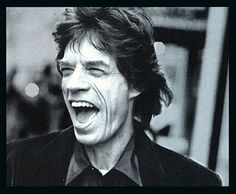 Moves like Jagger ? Laughs like Mick Jagger is even better to see , we all love a good laugh , it is essential to have a happy life and laughing feeds the soul !! ❤️