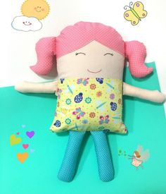 Naninha travesseiro menina