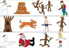 Stickman Border - could also be used for sequencing activity
