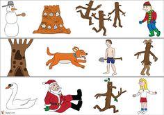 Teacher's Pet - Stick Man Border (plain) - FREE Classroom Display Resource - EYFS, KS1, KS2, stickman, julia, donaldson, christmas, santa, borders