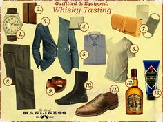 Did you RSVP to our Whiskey Tasting in at The Shops at Legacy Boardroom Salon location? Art of Manliness gives you the guide on what to wear. You can pick up that Jack Black Hand Healer in the salon.