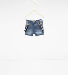 9566e55fc1c Denim bermuda shorts with braces-SHORTS-BABY BOY