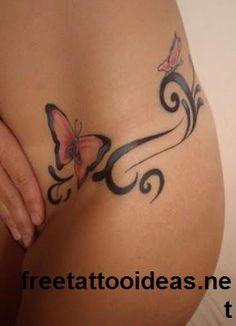 butter fly #tattoo - http://www.freetattooideas.net/butterfly-tattoos/