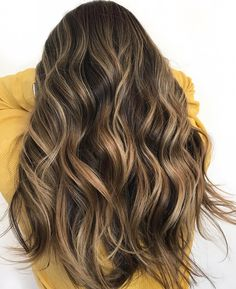 Balayage Hair Color Ideas With Blonde - brown hair with highlights #haircolor #brownhair #blonde #balayage