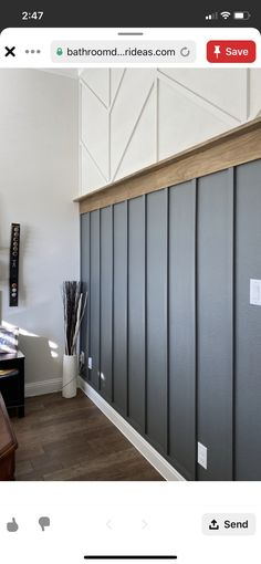 Modern wall accent Wood Accent wall Modern Transitional herringbone Board and Batten bedroom interior design Home Renovation, Home Remodeling, Young House Love, Board And Batten, Wood Accents, Wood Accent Walls, Kitchen Accent Walls, Brick Bathroom, Black Accent Walls