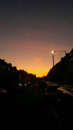 Sunrise over Gillingham [shared]