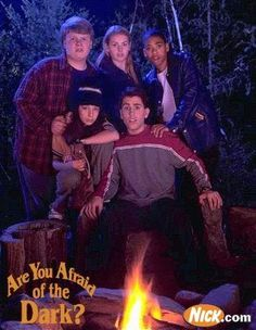 Are You Afraid of the Dark?  I wasn't technically allowed to watch this show as a kid...but definitely snuck in a few episodes...