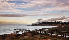 Moonstone Beach in Cambria, CA. You can't beat these coastal views!