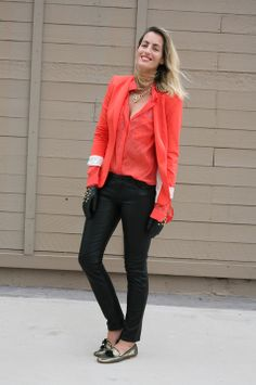 shirt + blazer in the same color Luli B. *lovely things*