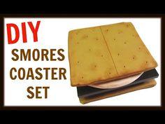 Craft Klatch ®: DIY S'mores Drink Coaster Set ~ Craft Klatch Another Coaster Friday® ~ How To