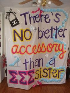 Would be a great banner for Sisterhood Week or even Diamond Days! via @Sigma Sigma Sigma National Sorority