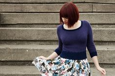 Ravelry: A Cropped Sweater for Winter pattern by Andi Satterlund