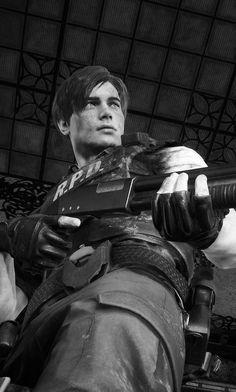 ~ Leon S. Resident Evil Costume, Resident Evil 3 Remake, Resident Evil Game, Leon S Kennedy, Star Trek Enterprise, Star Trek Voyager, Tyrant Resident Evil, Fullhd Wallpapers, Videogames